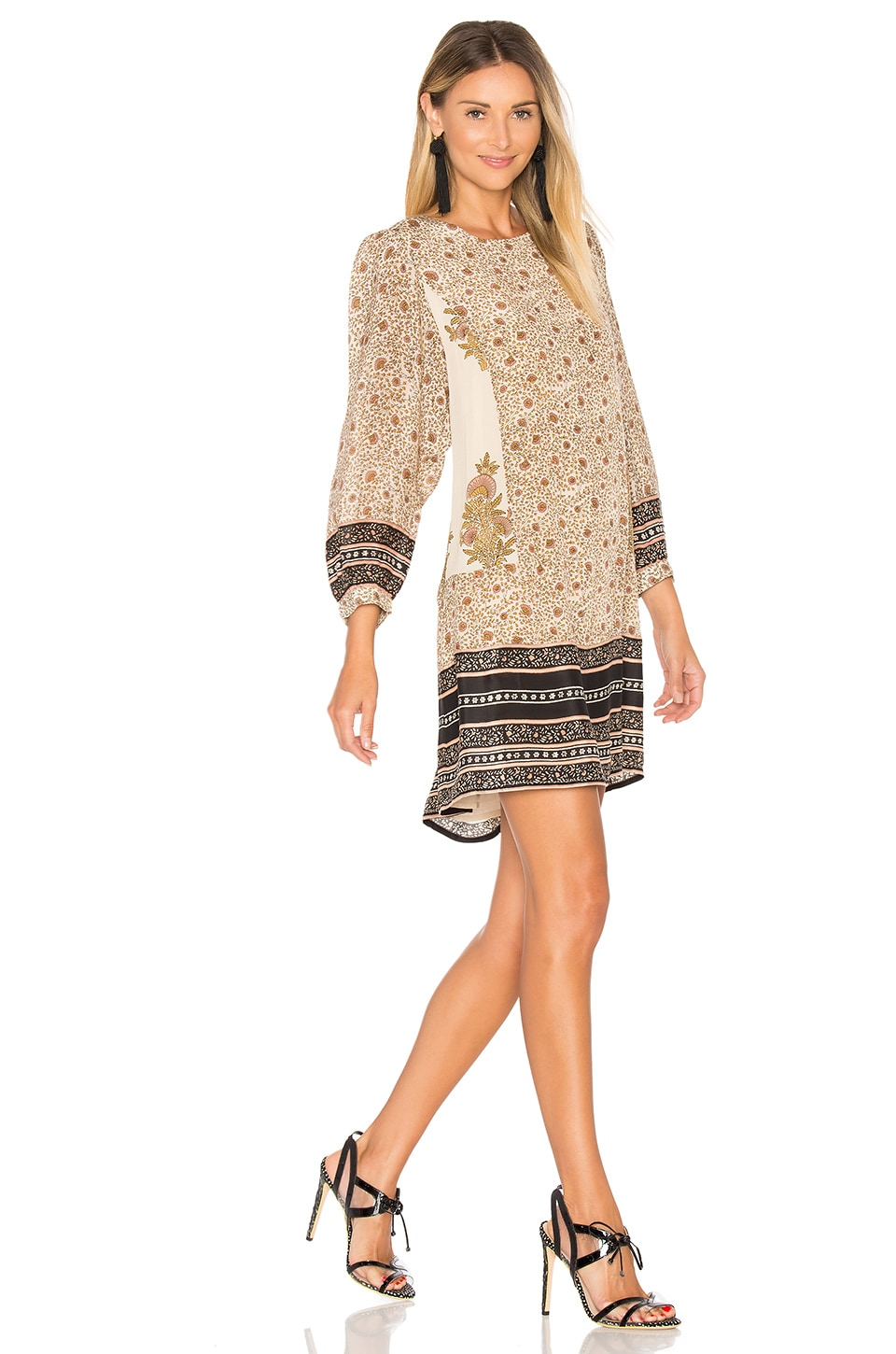 Crew Neck Long Sleeve Mini Dress by STELLA FOREST