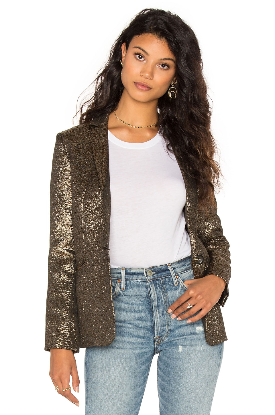 STELLA FOREST Blazer in Or