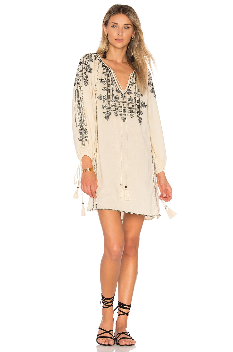 Danika Embroidered Dress by Star Mela