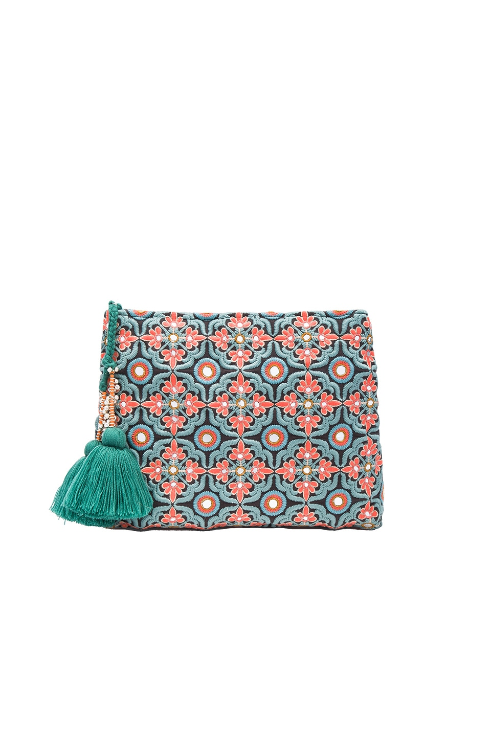 Star Mela Ashi Clutch in Faded Black & Multi