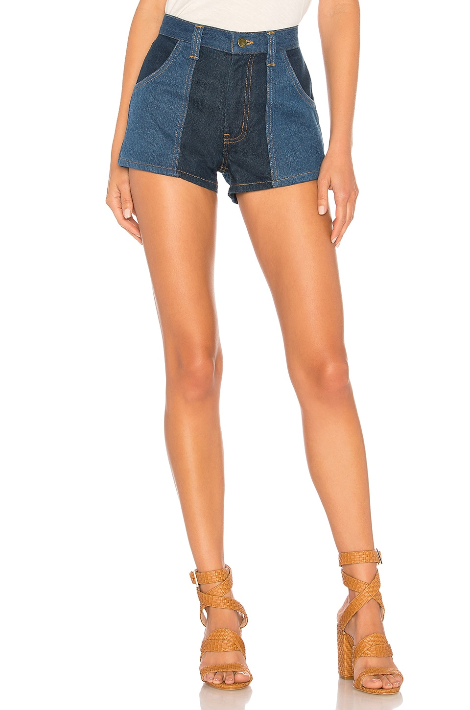 STONED IMMACULATE TWO TONE SHORTS