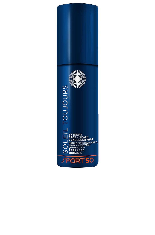 Soleil Toujours Extreme Face + Scalp Sunscreen Mist SPF 50 Sport
