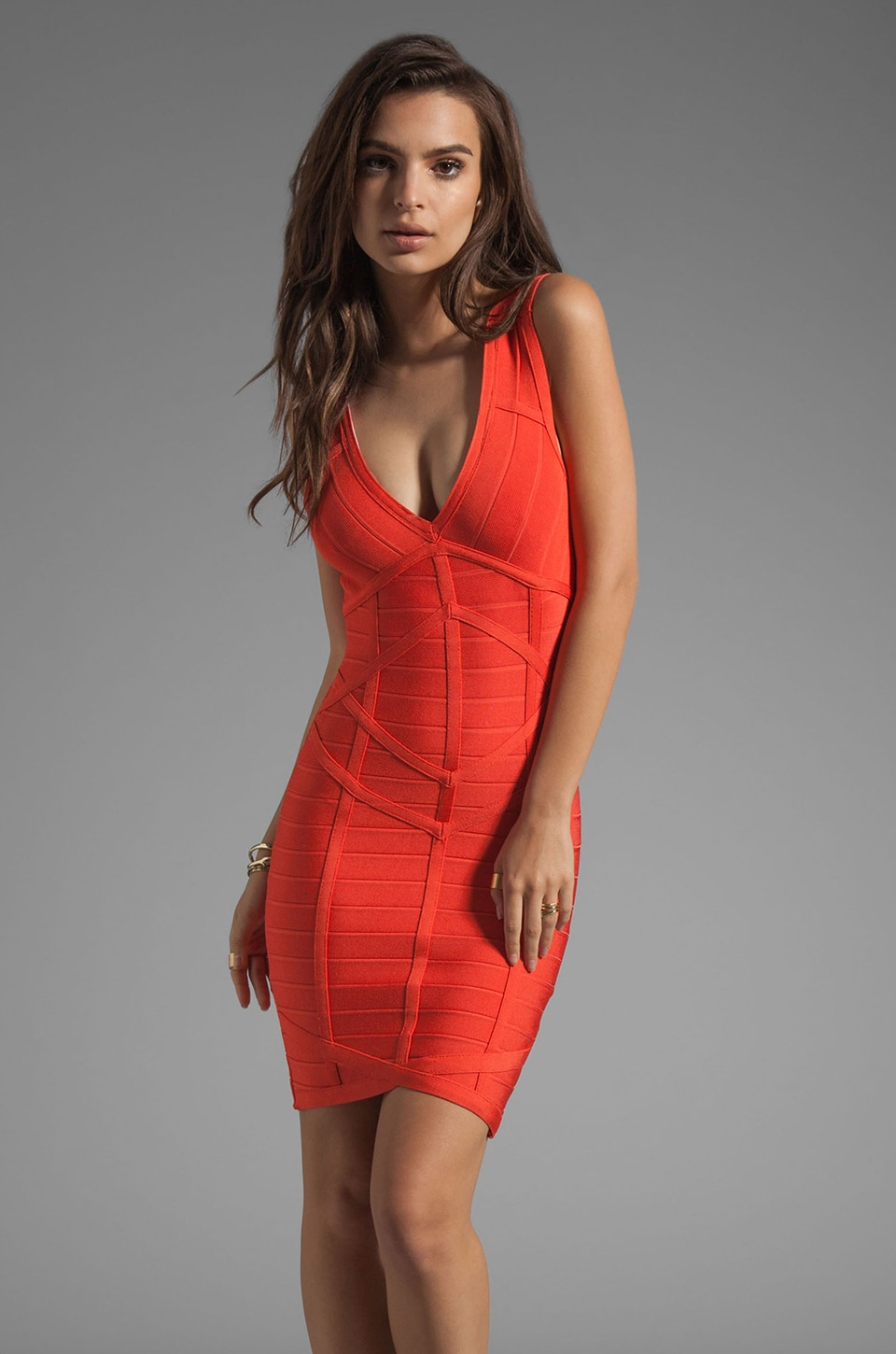 Stretta Rafaella Dress in Sunkist
