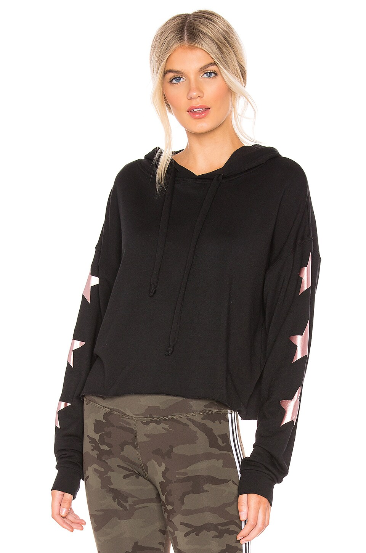 STRUT THIS Star Sweatshirt in Black