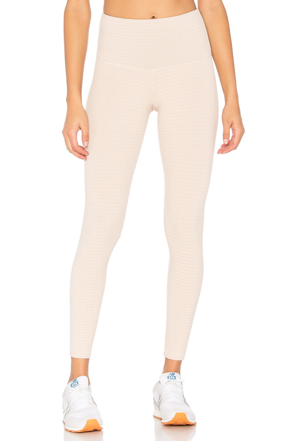 STRUT-THIS The Teagan Legging in Nude Chex