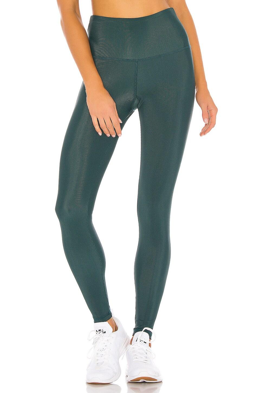 STRUT-THIS Kendall Legging in Emerald Rib