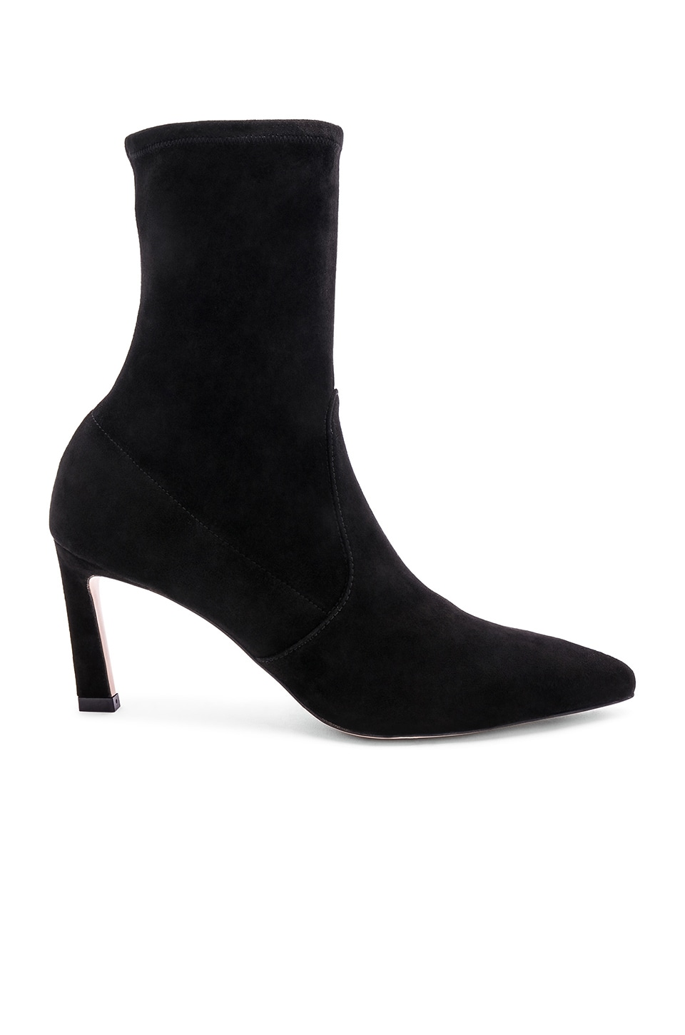 Stuart Weitzman Rapture Boot in Black Suede