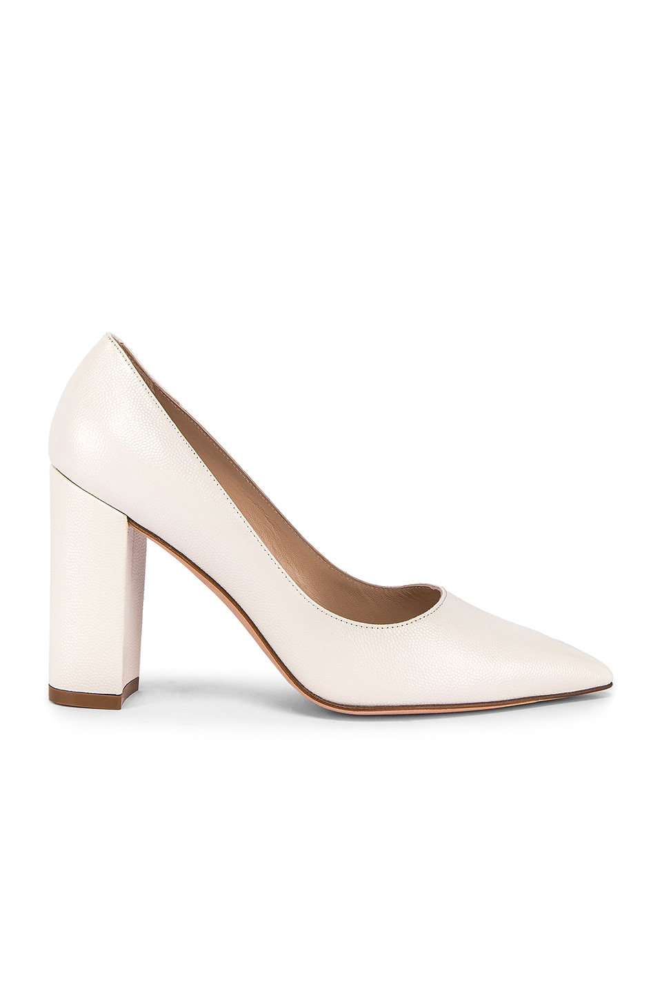 Stuart Weitzman Laney Heel in Cream