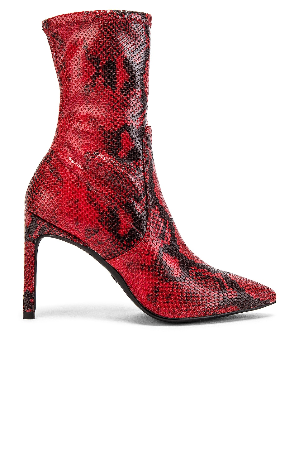 Stuart Weitzman Wren Bootie in Follow Me Red