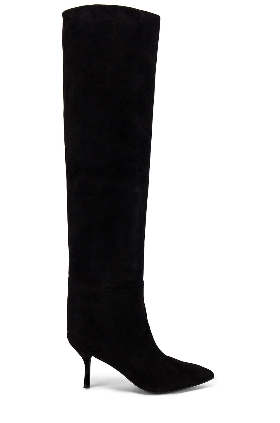 Stuart Weitzman Millie Boot in Black