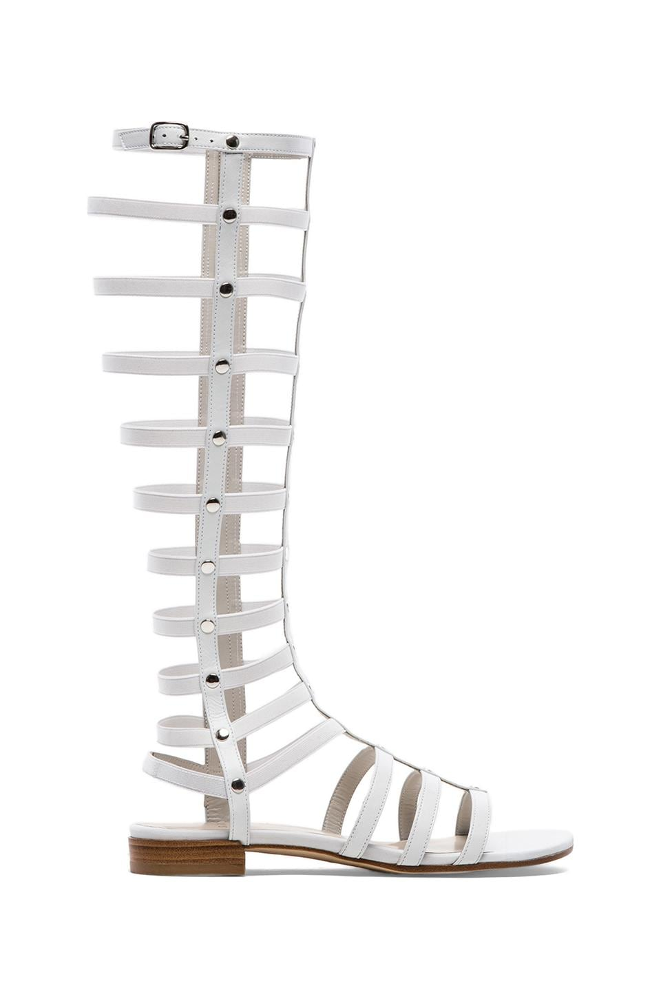 Stuart Weitzman Gladiator in White