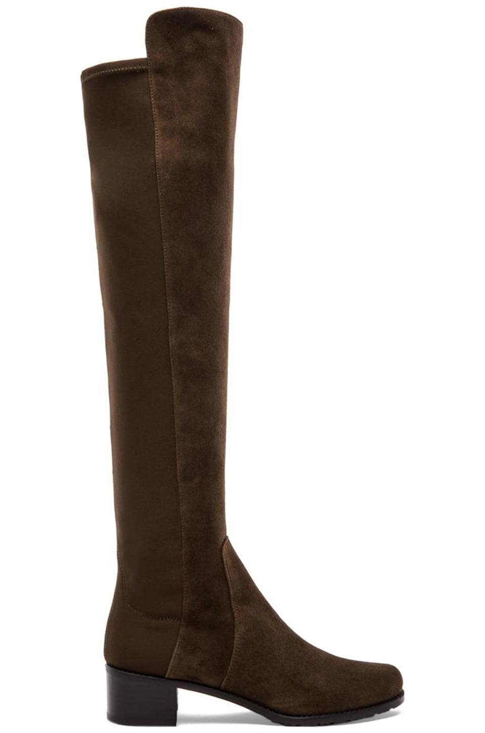 Reserve Stretch Suede Boot at REVOLVE