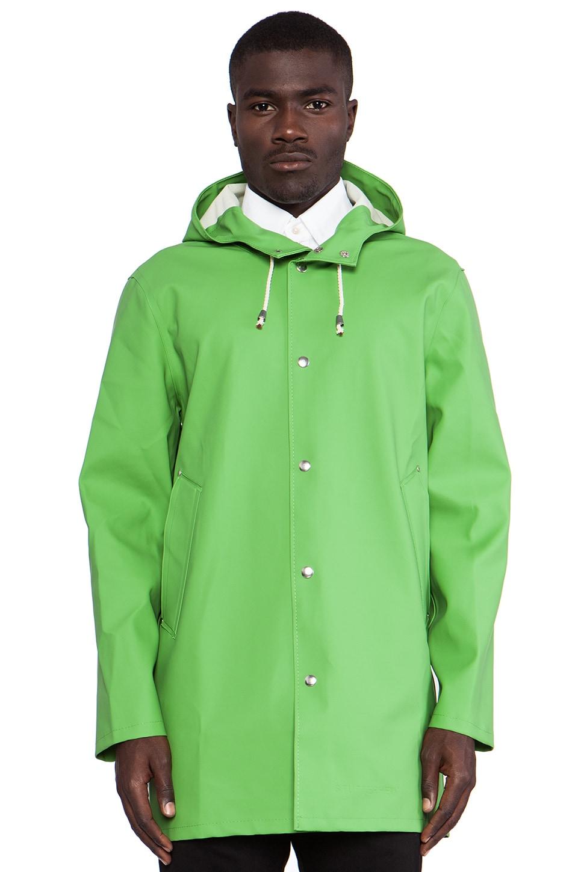 Stutterheim Stockholm Jacket in Grass Green