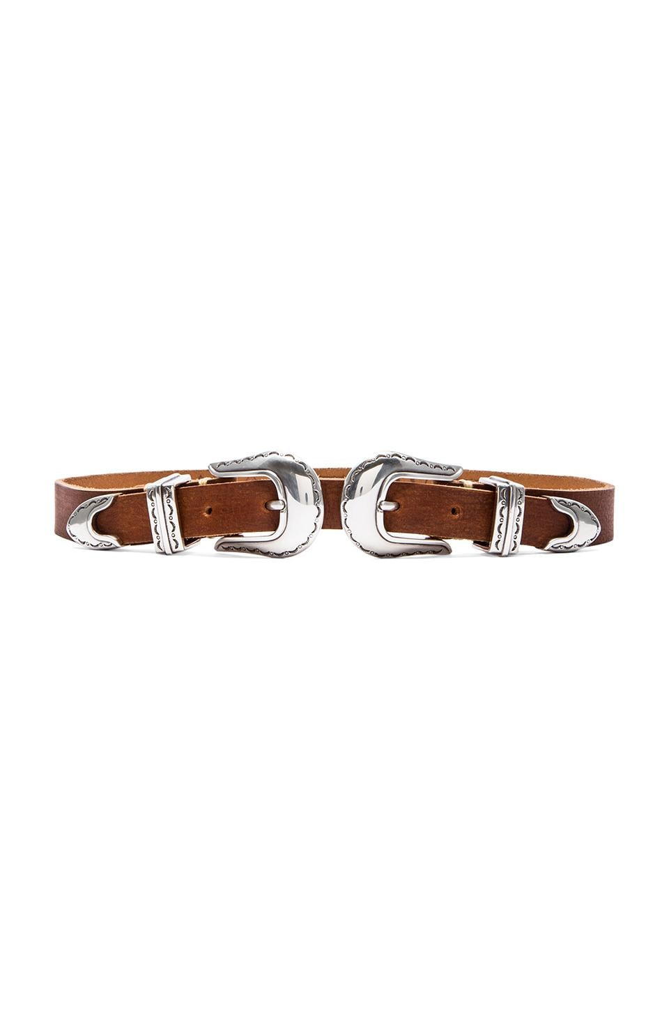 Stillwater CEINTURE THE DOUBLE BUCKLE