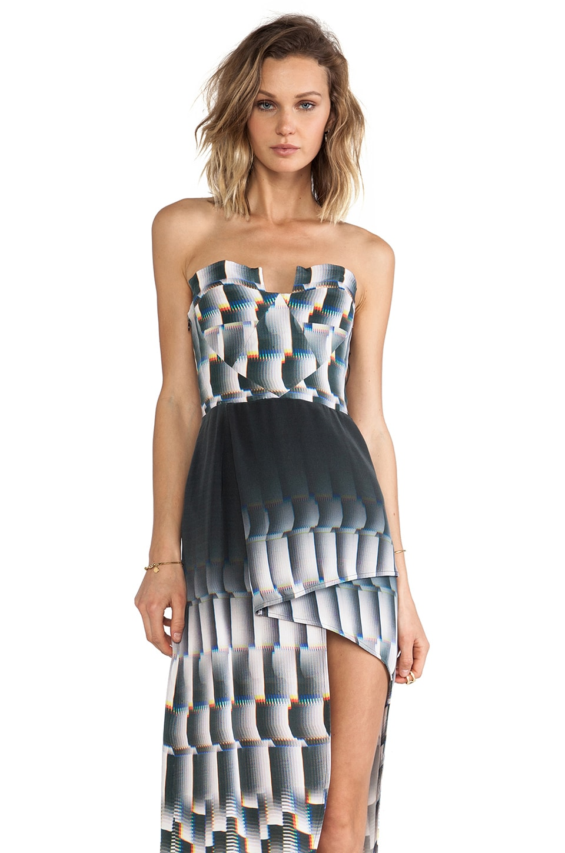 Suboo Cityscape Maxi Dress in Print