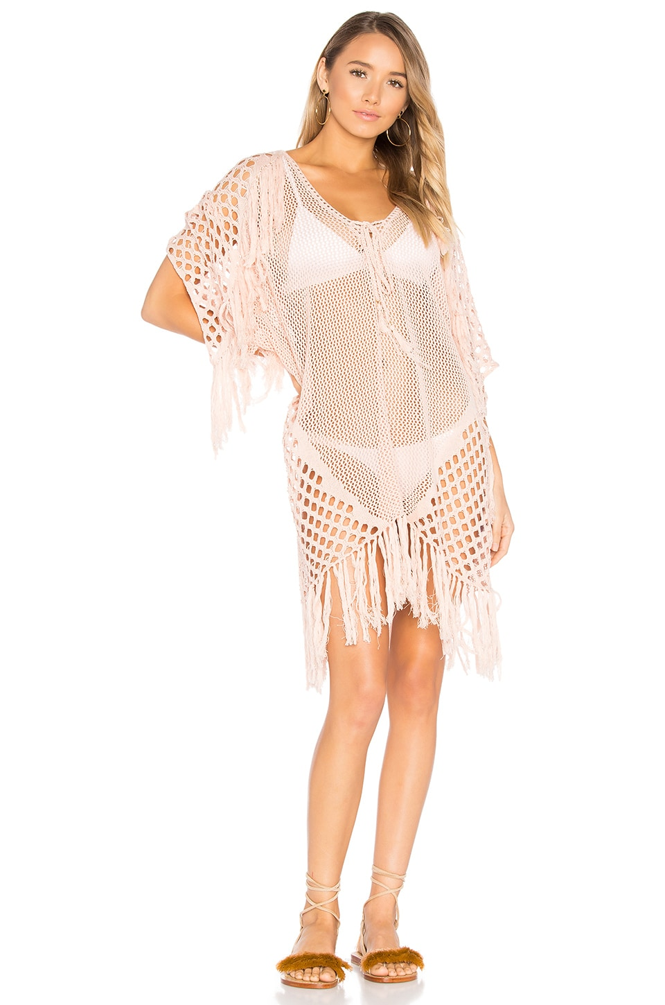 New Romantics Fringe Caftan by Suboo