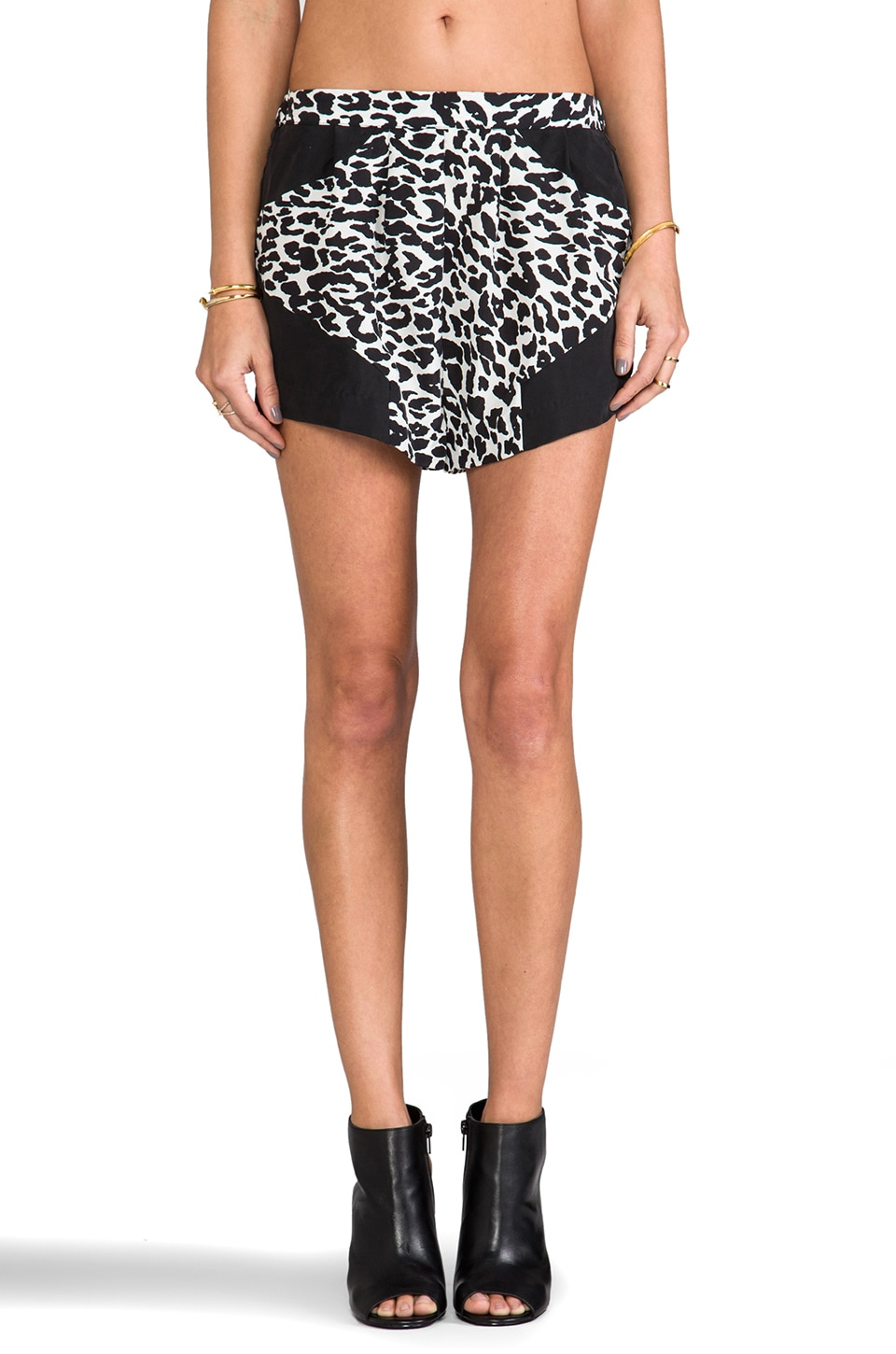 Suboo Printed Short in Lunar Leopard