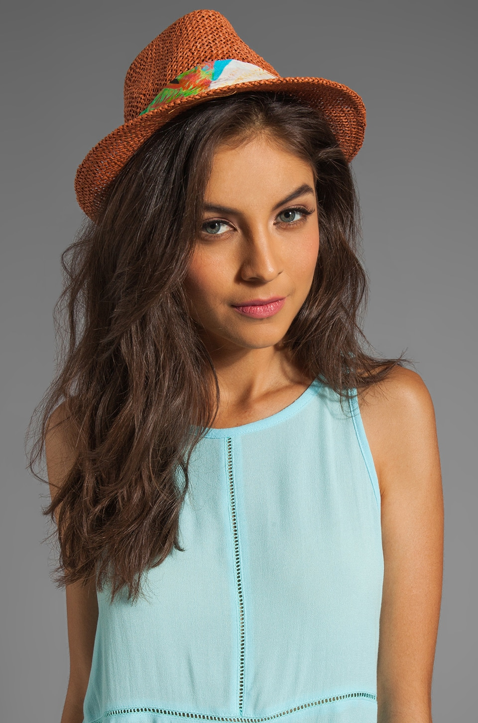 SUBOO Sun Kissed Nirvana Fedora in Straw