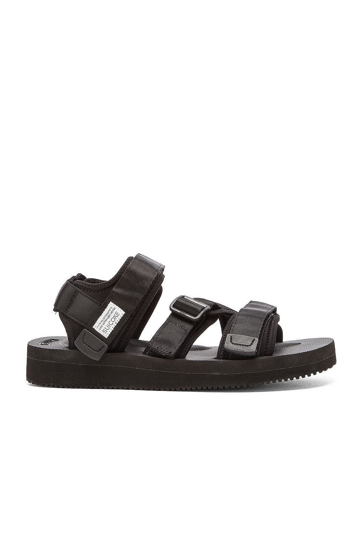 Suicoke KISEE V Sandals in Black