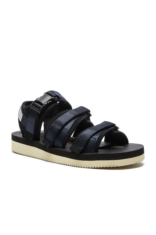 Suicoke GGA V Sandals in Navy