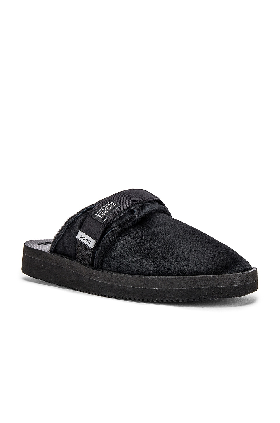 Suicoke ZAVO-vhl Slipper in Black