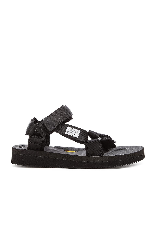 Suicoke DEPA V2 Sandals in Black
