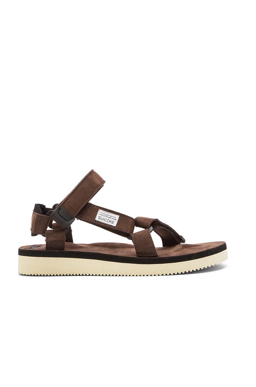 99971267aaa5 Suicoke DEPA-ecs Sandal in Brown
