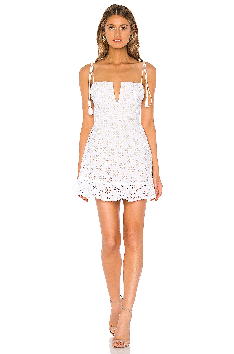 Sun Becomes Her Margarita Dress in Blanco