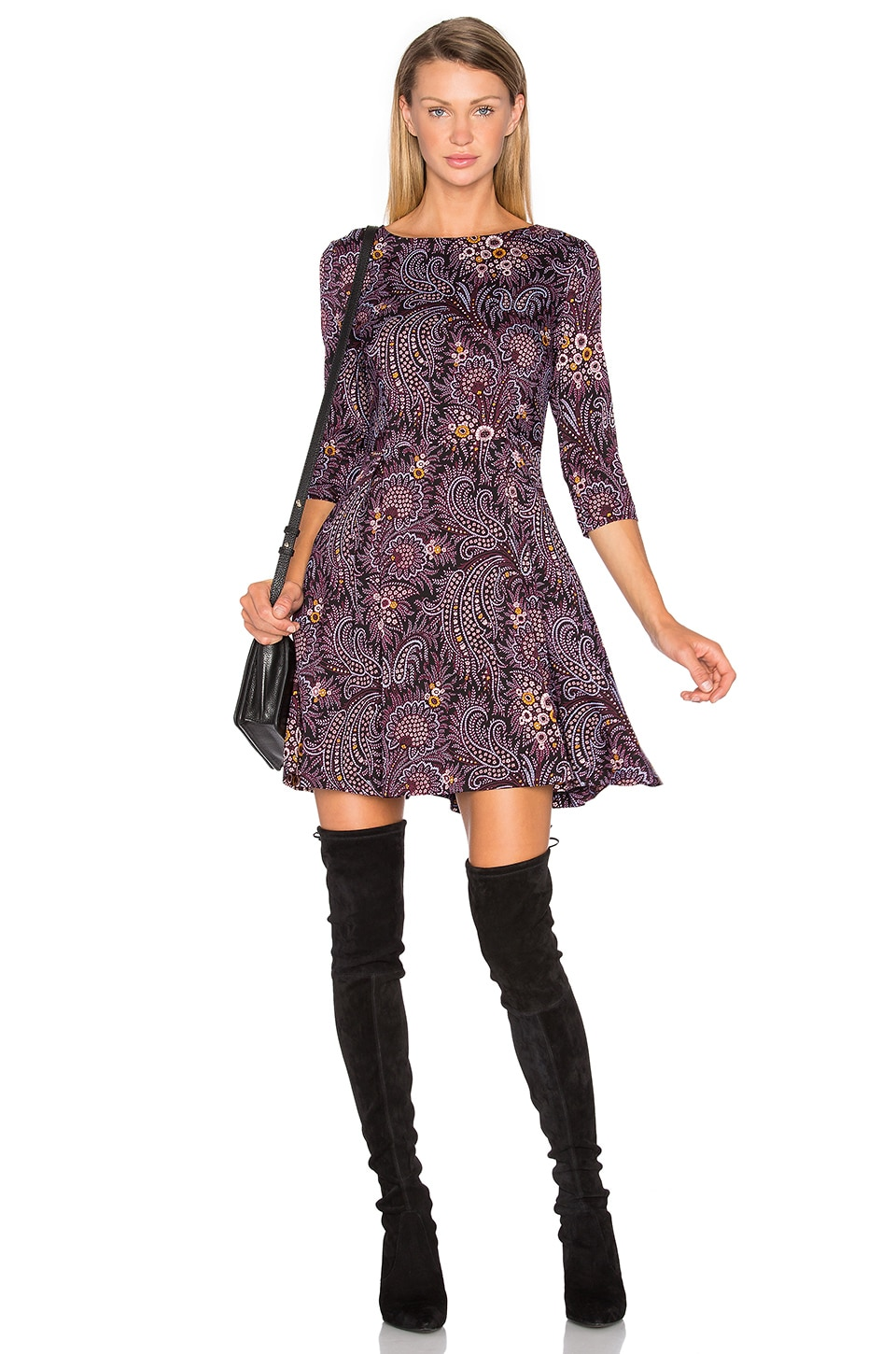 Fit And Flare Dress by SUNO