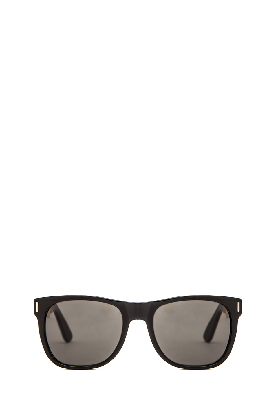Retrosuperfuture Francis Basic Wayfarer in Black/Gold