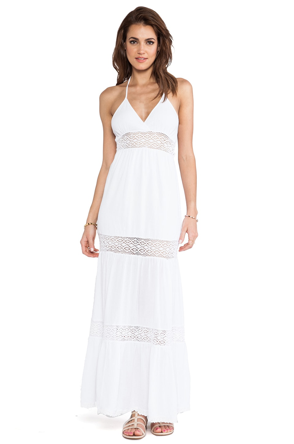 Surf Gypsy Maxi Dress in Ivory