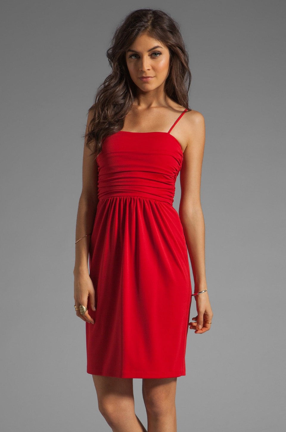 Susana Monaco Julie Dress in Pepper