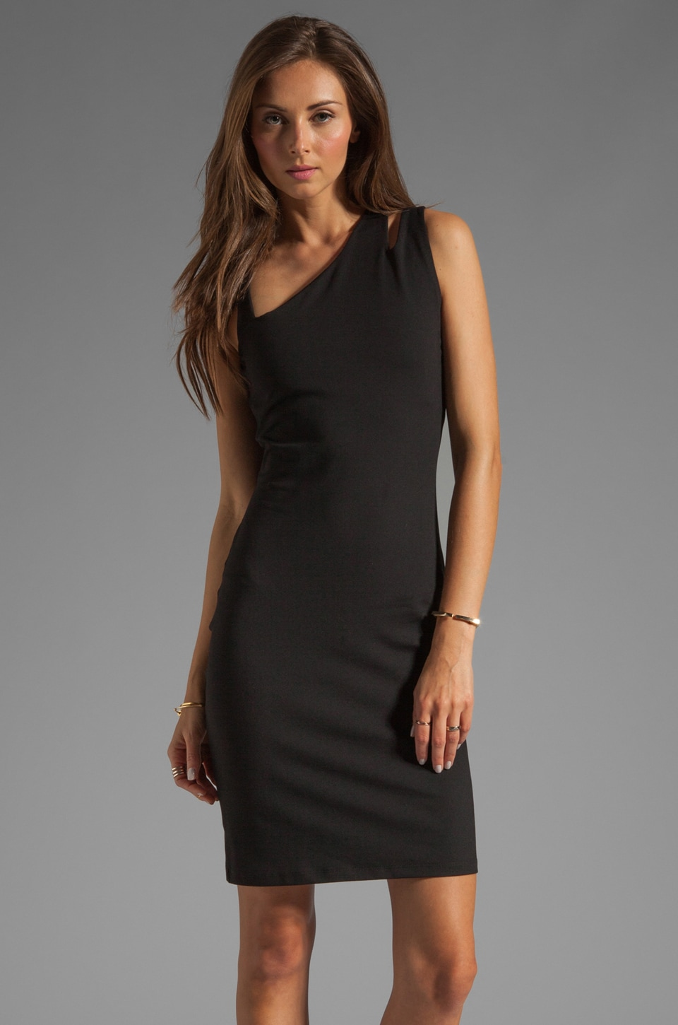 Susana Monaco Illana Dress in Black