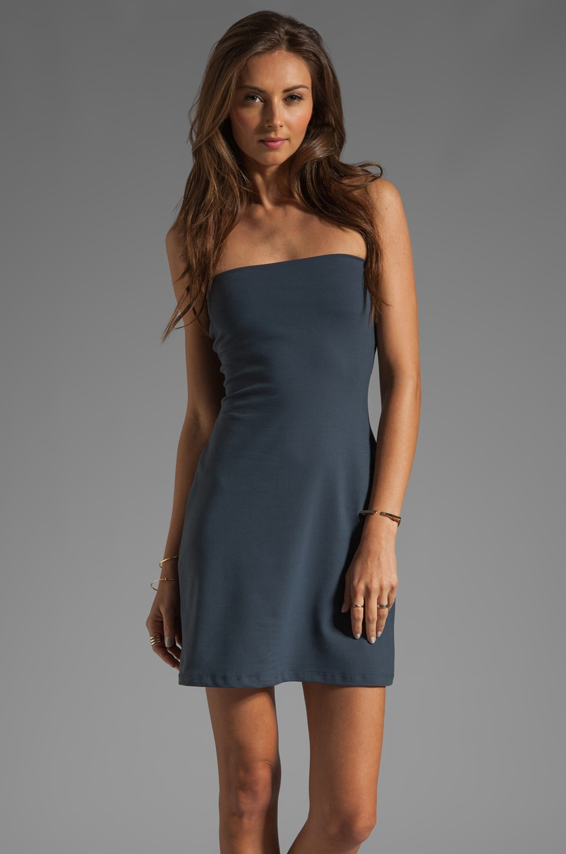 Susana Monaco Tube Dress in Charcoal