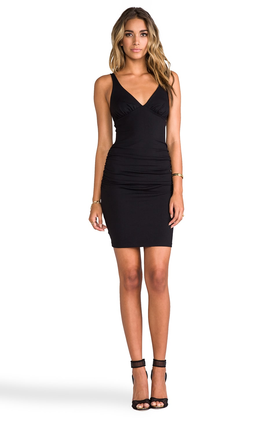 Susana Monaco Tank Dress in Black