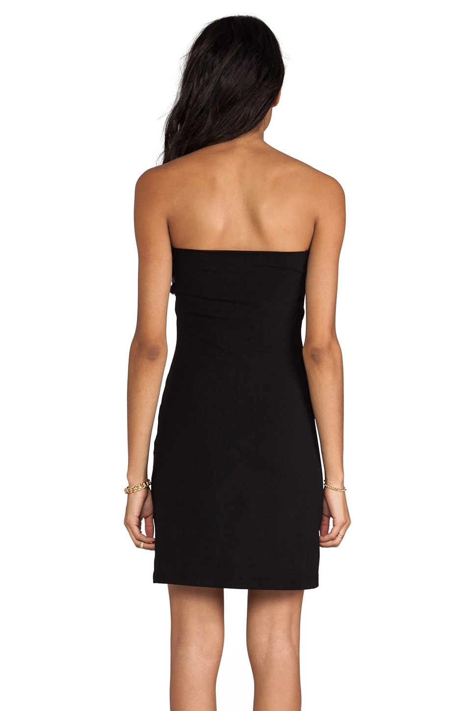 "Susana Monaco Tube Dress 18"" in Black"