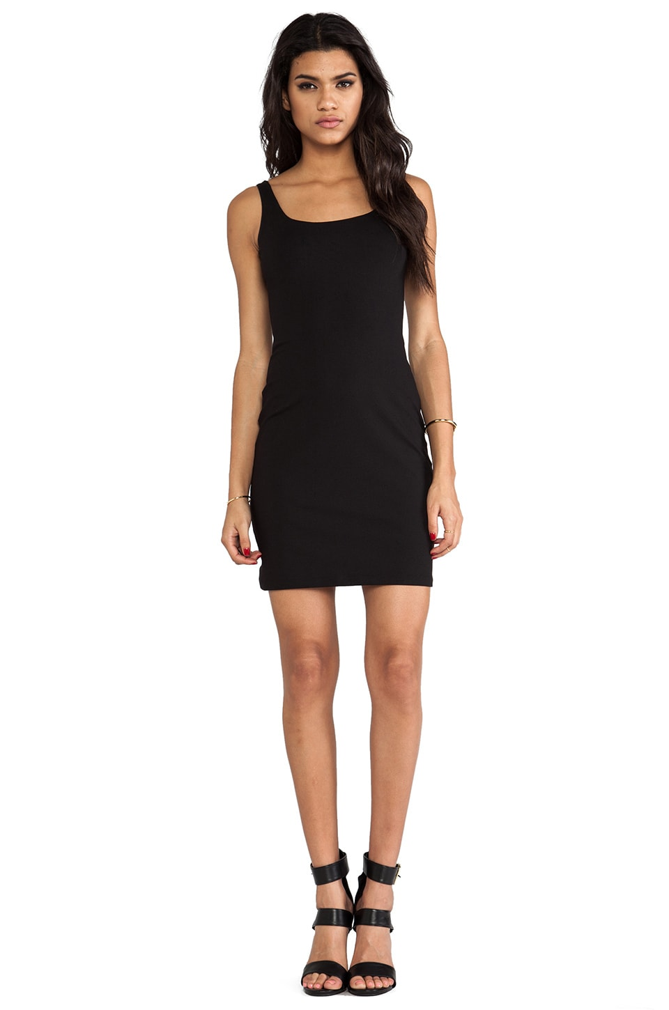 "Susana Monaco Samantha 19"" Dress in Black"