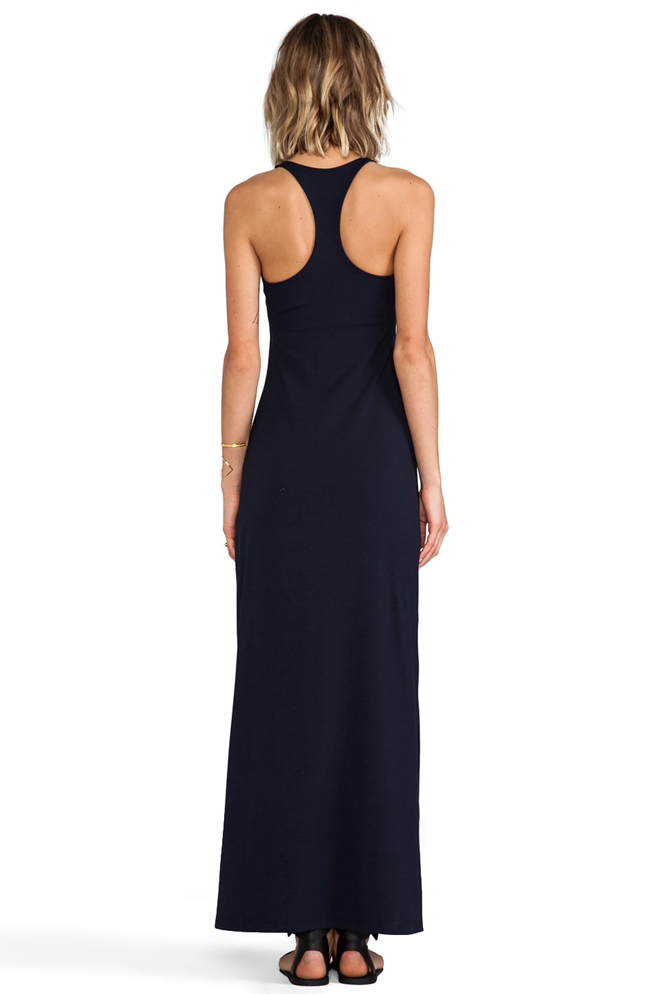"Susana Monaco Racer Maxi 42"" Dress in Midnight"