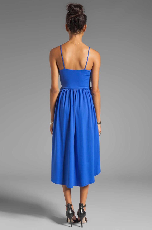 "Susana Monaco Light Supplex Taylor 22-34"" Dress in Topaz"