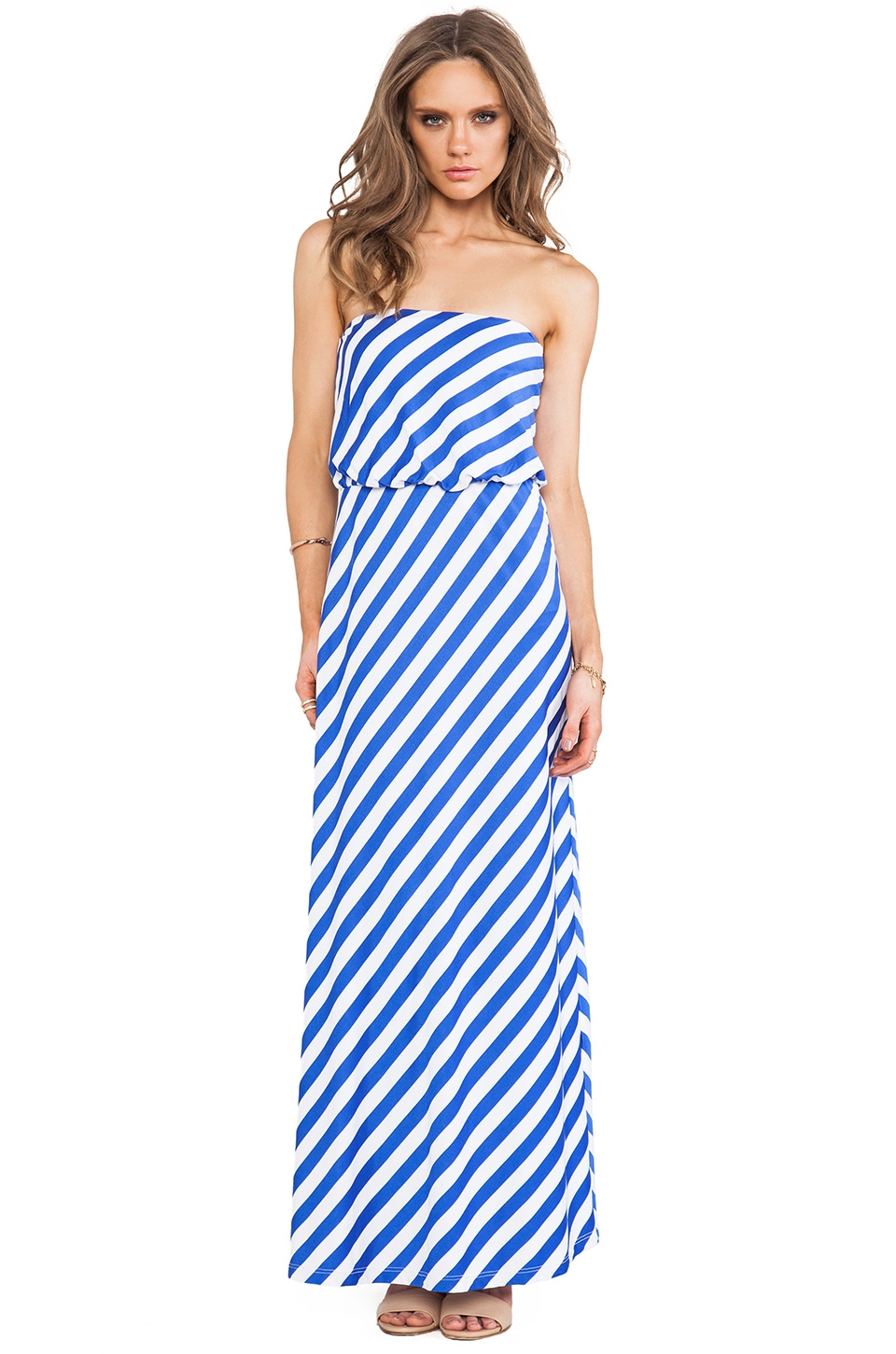 Susana Monaco Stripe Supplex Tube 40