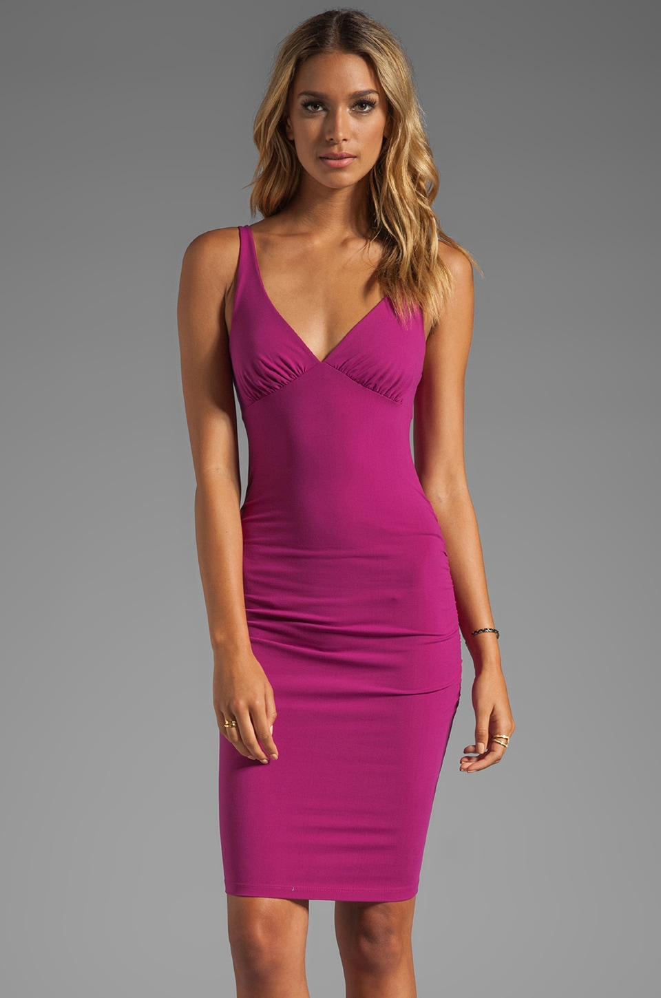 Susana Monaco Tank Dress in Bombshell Pink