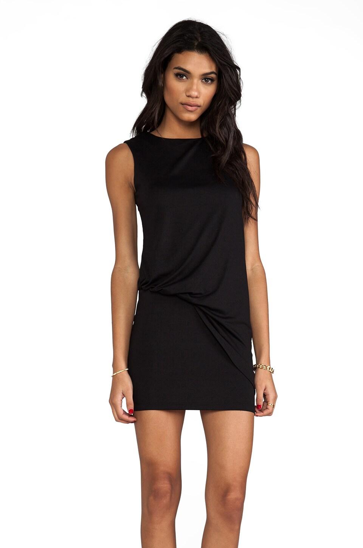 "Susana Monaco Light Supplex Mika 17"" Dress in Black"