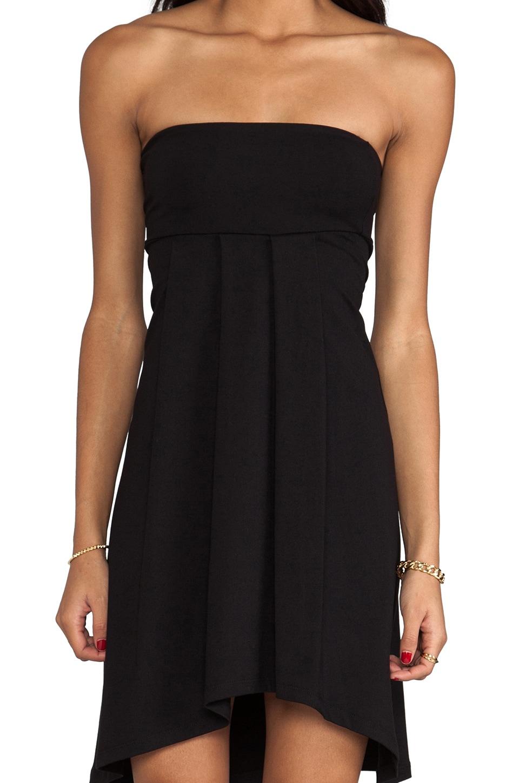 """Susana Monaco Tube 22"""" Dress in Black"""