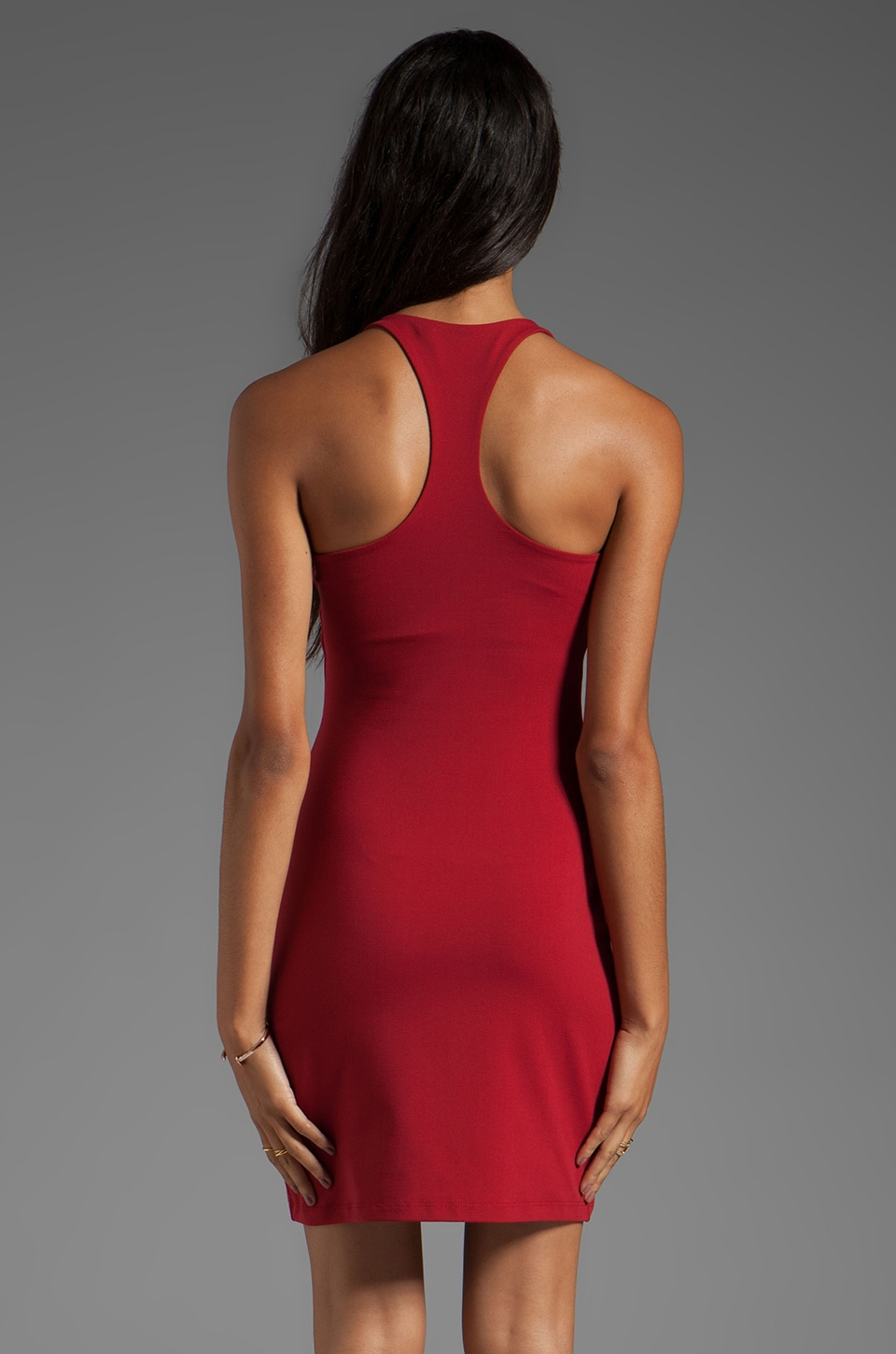 "Susana Monaco Racer Mini 18"" Dress in Cherries"