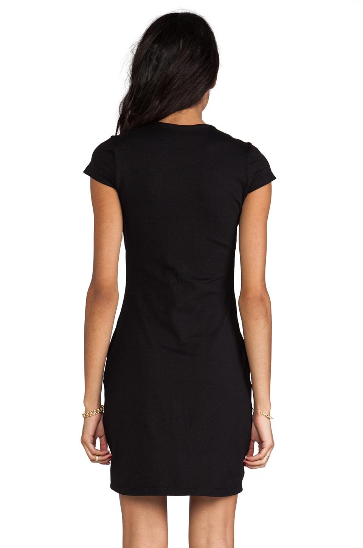 "Susana Monaco Crew 20"" Dress in Black"