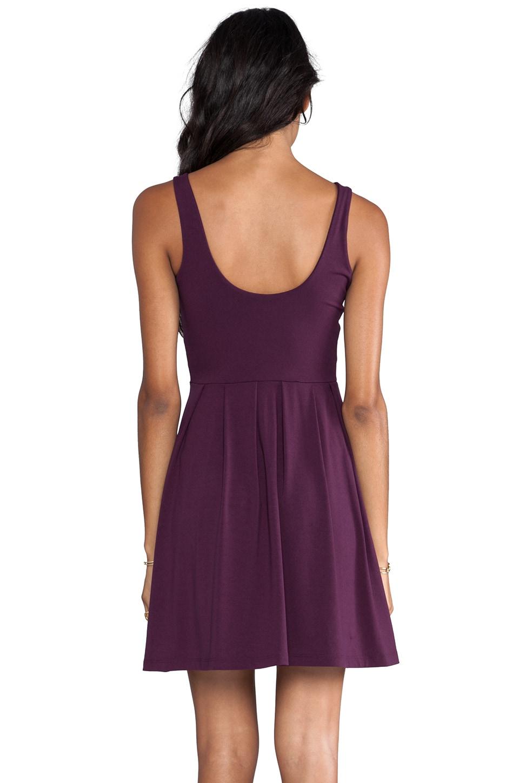 """Susana Monaco Edina 19"""" Dress in Ruby"""