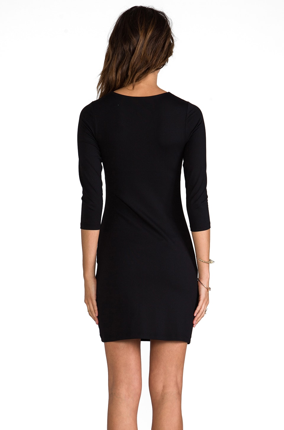 "Susana Monaco Berenice 20"" Dress in Black"