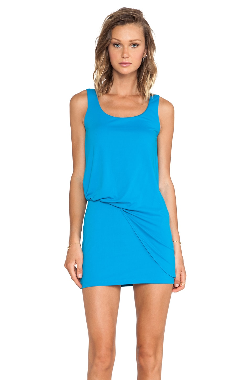Susana Monaco Tank Tuck Dress in Horizon