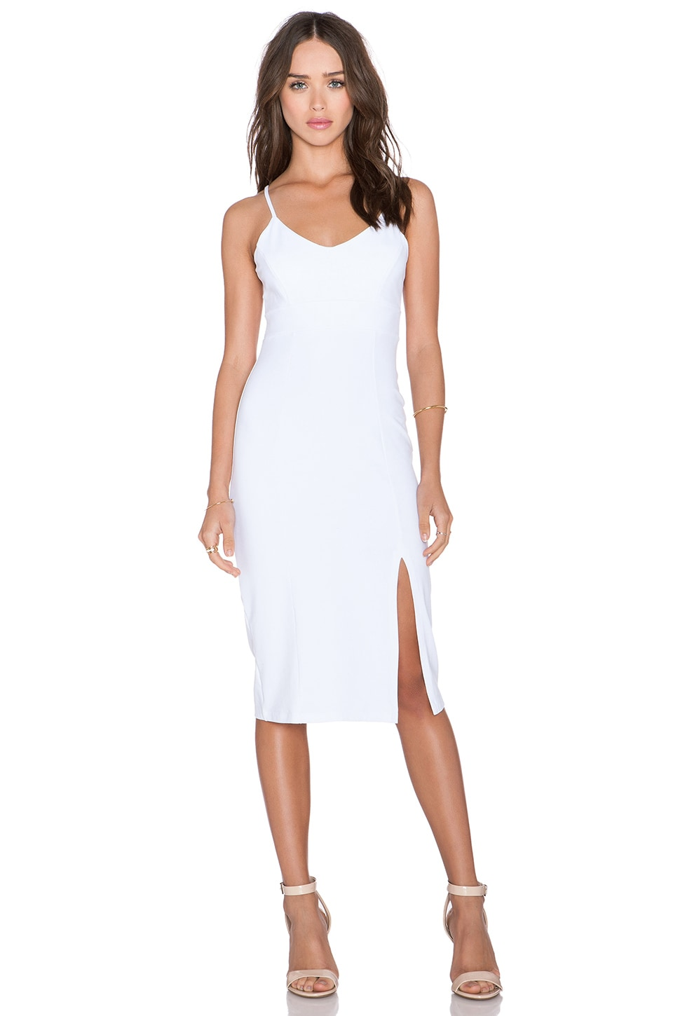 Susana Monaco Nicola Midi Dress in Sugar