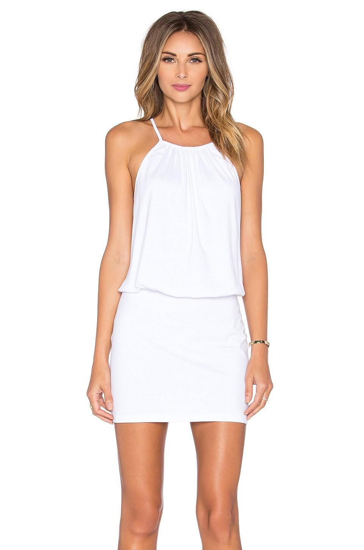 87fd8102814d Full Product View. Susana Monaco Drape Mini Dress in Sugar